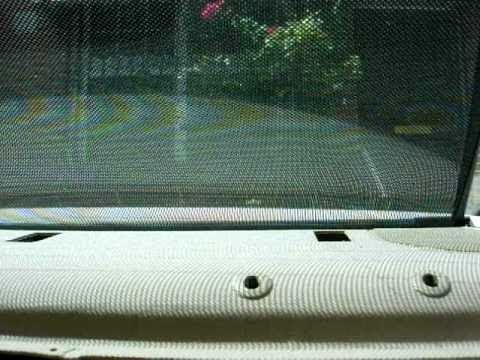 Bmw E46 330i Electric Sun Blind Sunshade Retrofit Pt 3