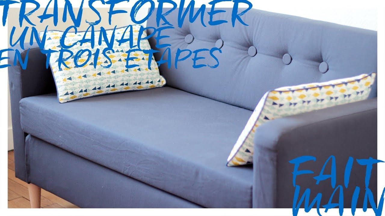 ameliorer un canape basique