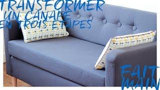 Améliorer un canapé basique