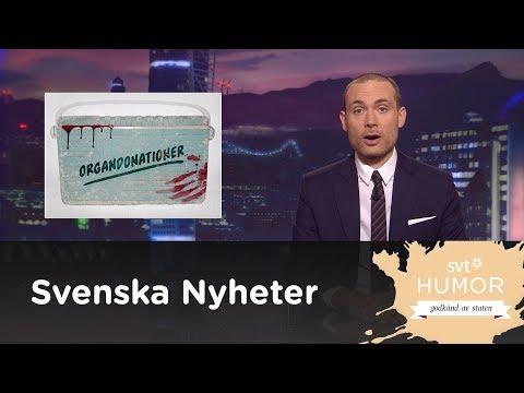 SVENSKA NYHETER - ORGANDONATIONER, DONERA DU OCKSÅ