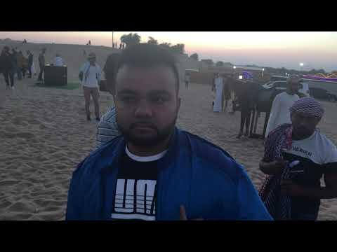 Dubai Desert Scene Nov 2019