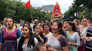 Kishori Yatra kirtan 2 - Boston Ratha Yatra Festival - 6/30/2019