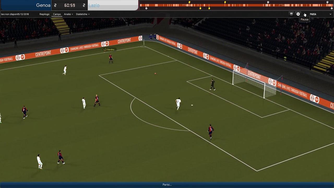 Genoa Lazio 2 2 Youtube