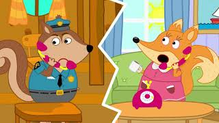 The Fox Family and Friends | knock knock trick or treat | Cartoon for kids new full episode #854