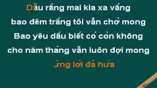 Co Nhung Khi Mot Minh Karaoke - Lê Hiếu - CaoCuongPro