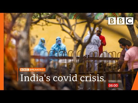 India surpasses 200,000 Covid deaths in world's worst second wave - BBC News live ? BBC