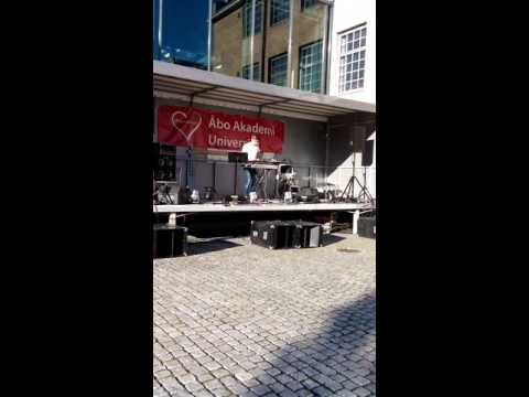 Street food festival, Åbo Akademi University, Turku