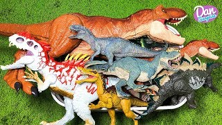 BIG BOX OF TOYS: JURASSIC WORLD DINOSAURS, ACTION FIGURES, CARS, DINOSAURS