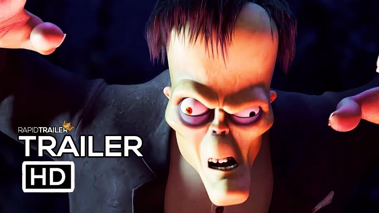 The Addams Family International Trailer Reveals Lurch S Origin Story
