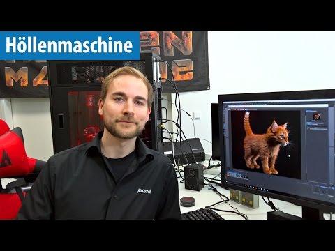 Rendern mit Cinema 4D auf der Höllenmaschine 7 | deutsch / german