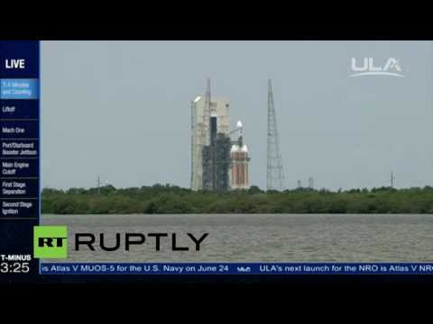 LIVE: ULA Delta IV Heavy launches NRO communications satellite