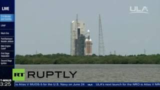 LIVE: ULA Delta IV Heavy launches NRO communications satellite
