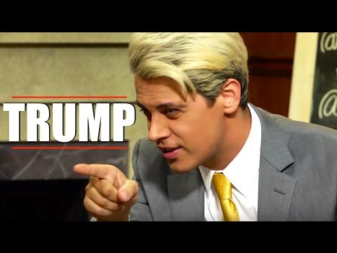 Milo Yiannopoulos Loves Donald Trump