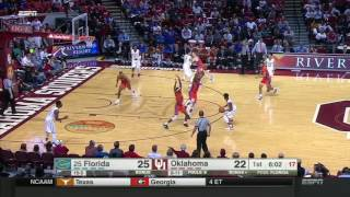 Oklahoma vs Florida | 2016-17 Big 12 Men's Basketball Highlights