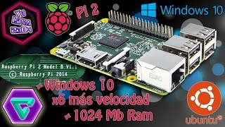 Review Raspberry Pi 2 en Español - 1024 Mb de RAM - Procesador ARMv7 - 6 veces más potente