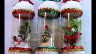 видео Простые новогодние поделки своими руками