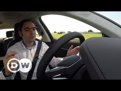 Audi A8's traffic jam assistant | DW English