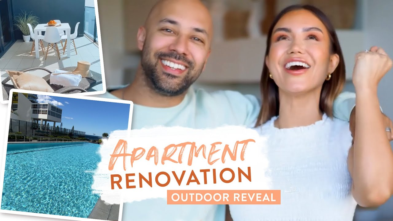 APARTMENT RENOVATION - OUTDOOR REVEAL (ep 3)