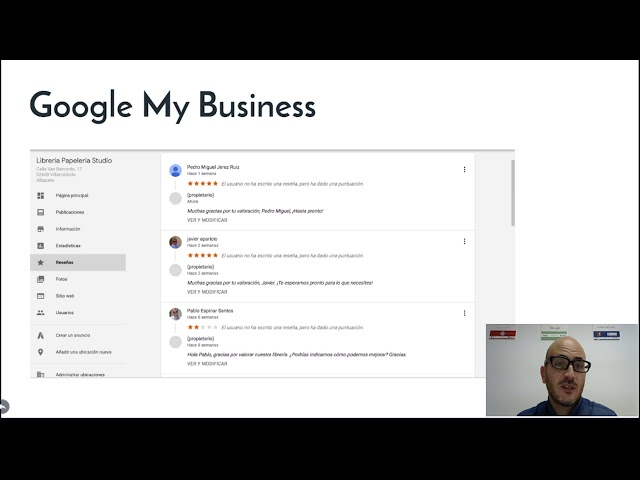 Lección 5: Google My Business
