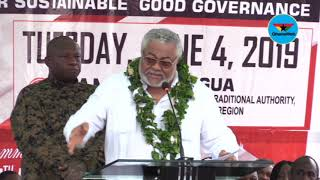 I don't regret demolishing Alhaji Yusif's $5m dollar hotel – Rawlings fires