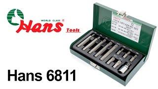 Hans 6811 — набор бит — видео обзор 130.com.ua