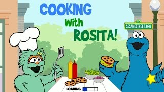 Sesame Street Cooking With Rosita and Cookie Monster