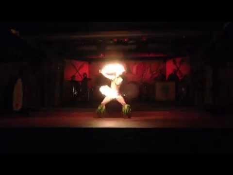 Fire Dance at Disneys Spirit of Aloha Dinner Show