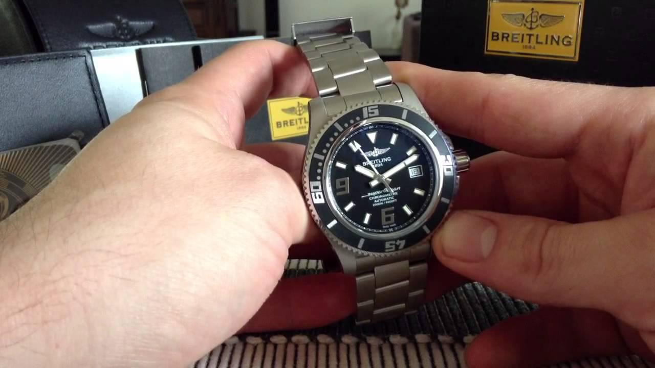 7807b6946f4 My Breitling Superocean 44   Ref  A17931 - YouTube