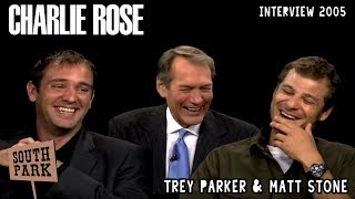 Trey Parker & Matt Stone on The Charlie Rose Show 26/09/2005