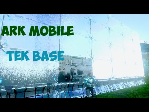Full Tek BASE!!! | ARK MOBILE
