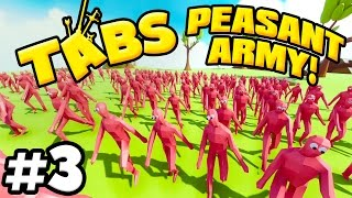 t a b s totally accurate battle simulator an army of peasants tabs gameplay
