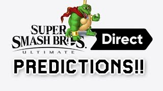 MGN Smash Bros Ultimate Direct Predictions: Smash Demo/Beta |  New Story mode | Smash Online & More