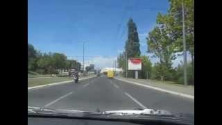 Fahrt durch Beograd mit Top FM 106,80