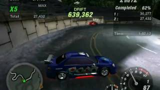 NFS UnderGround 2 Drift world record !!!!!!!!!!!!!!!!!!!!!!!!