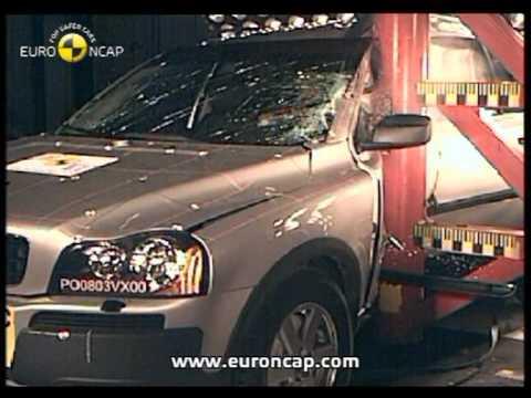 Euro NCAP | Volvo XC90 | 2003 | Crash Test
