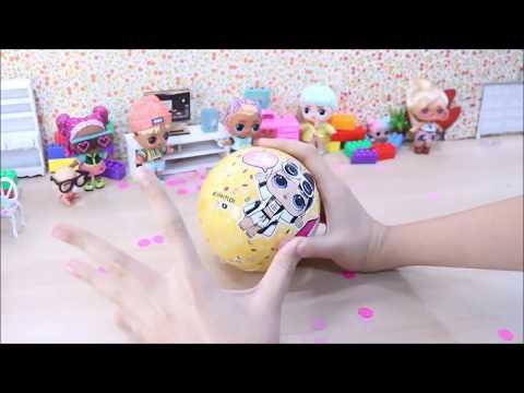 Bola Gigante de L.O.L. Surpresa dos Jovens Titãs em Ação *Customizada* -Brinquedonovelinhas from YouTube · Duration:  10 minutes 2 seconds