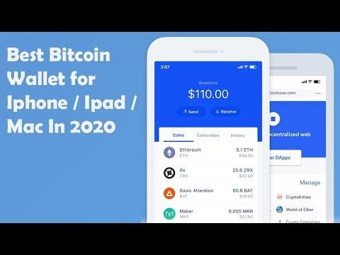 Best Bitcoin Wallet For Iphone / Ipad / Mac 2020 🚀