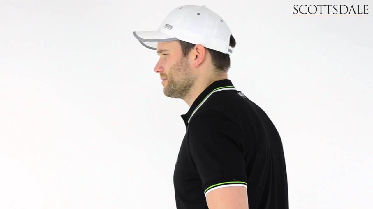 2303ed1d4 Hugo Boss Paddy Pro Polo Shirt Black - YouTube