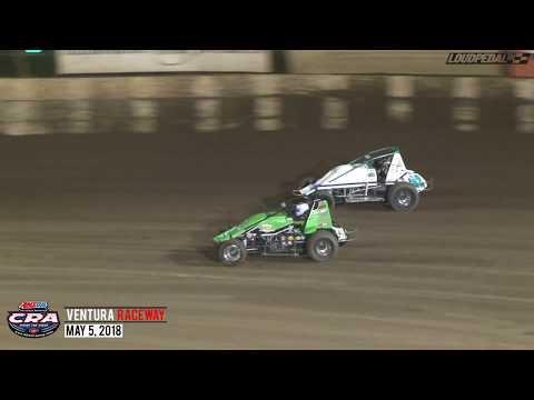 USAC/CRA Sprint Feature Highlights | Ventura Raceway 5.5.18