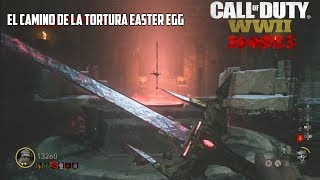 THE TORTURED PATH EASTER EGG ESPADA DE BARBARROJA ARMA ESPECIAL CON BATALLA FINAL | WW2 ZOMBIES