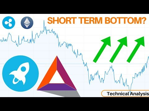 Short Term Bottom? Stellar & BAT Looking Bullish + XRP & ETH