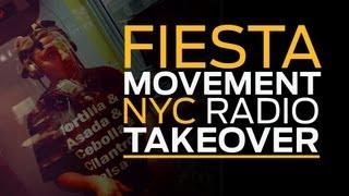 Fiesta Movement NYC Radio Takeover