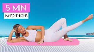 5 MINUTE INNER THIGH BURN WORKOUT 💕