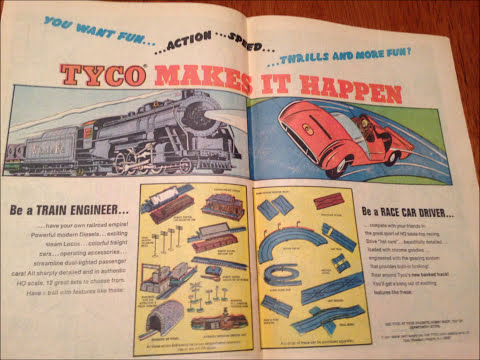 COMIC MAN PRODUCTIONS: TYCO MAKES IT HAPPEN COMIC BOOK AD 1968
