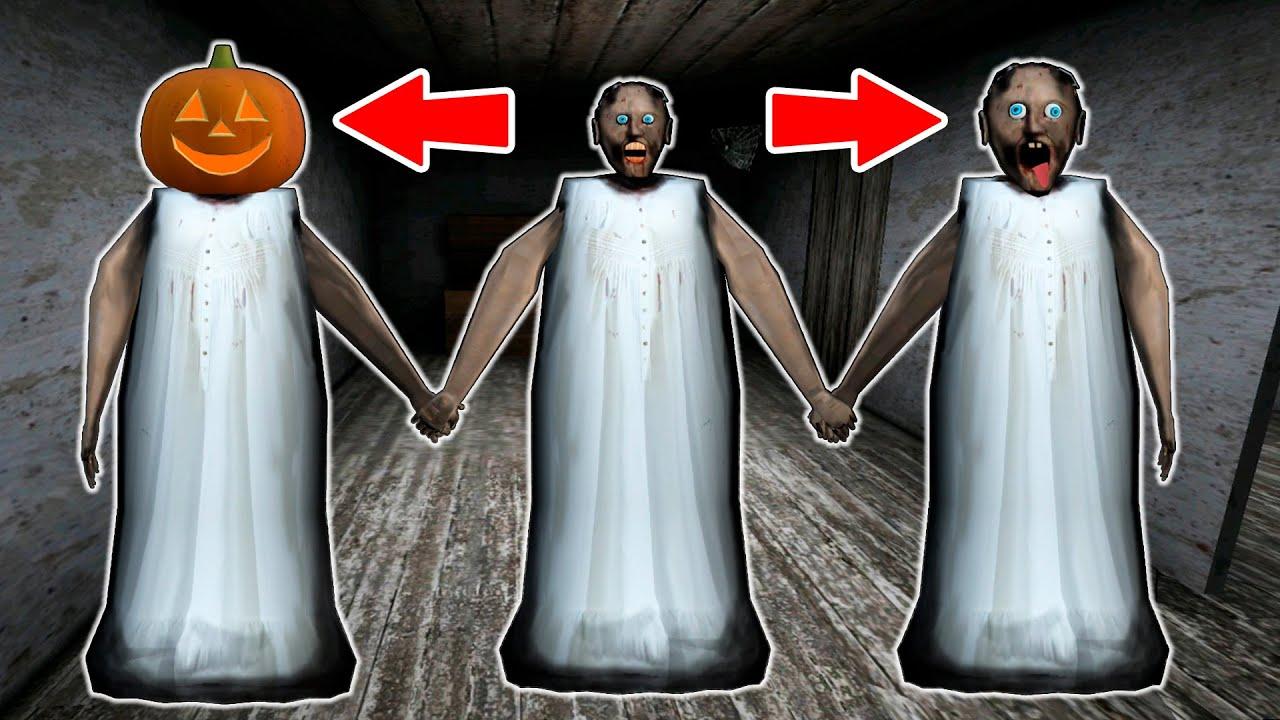 Granny vs Scary Granny vs Noob Granny - funny horror animation parody (the funniest episodes)
