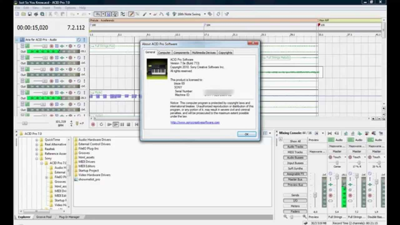 acid pro 7.0 keygen free download