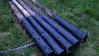 видео Как установить столбцы для деревянного забора