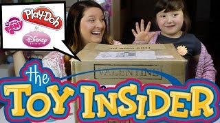 Toy Insider Monthly Surprise Toy Box For May 2015!-surprise Playdoh, Mlp, Surprise Lego Jr And More!