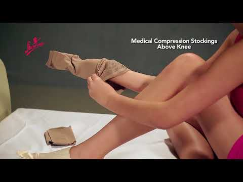 Medical Compression Stocking Above Knee