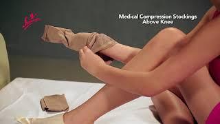 Medical Compression Stocking Above Knee